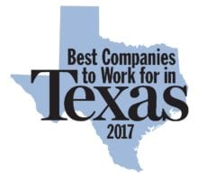 Best Companies to work fo rin texas 2017